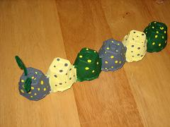 Egg Carton Caterpillar & Poem