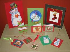 Christmas Card Recycle Activity