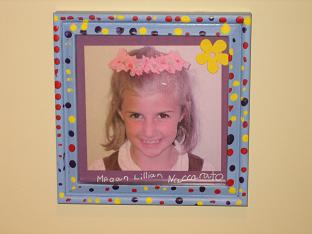 Grandma Lizzies House Picture Frame Megan