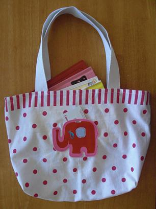 grandma lizzies house book tote