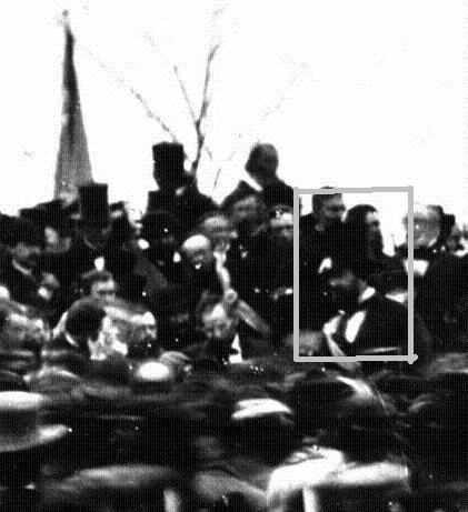 Only Known Photo of Lincoln at Gettysburg