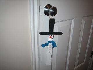 Snowman Door Hanger grandma lizzies house