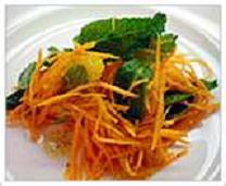 Minted Carrot & Orange Salad