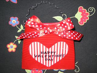 Valentine Treat Can
