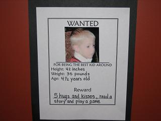 Grandchild Wanted Poster