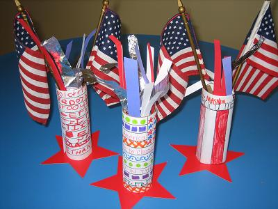 Firecracker Table Decorations