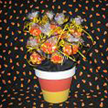 Candy Corn Centerpiece & Favor