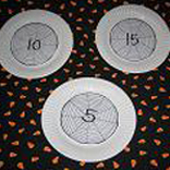 Spider Web Toss Math Game