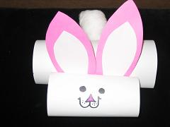 Paper Tube Bunnies