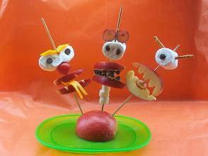 Edible Monsters on a Stick