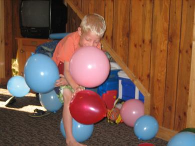 Balloon Party Game