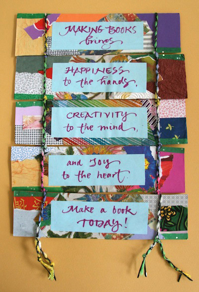 Fun Bookmaking Ideas